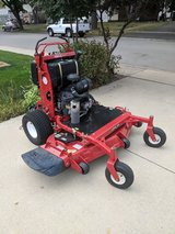 "WorldLawn 52"" Stand-Up Lawn Mower. in Chicago, Illinois"