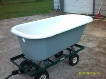 Antique Cast Iron Eagle Claw Foot Bathtub in Pearland, Texas