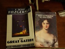 3 Classics Pride Prejudice Gatsby Wuthering heights Paperback Ready Romance Roaring in Houston, Texas