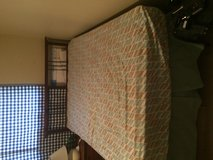 Full Size Bed with box spring, mattress, and frame in Kingwood, Texas