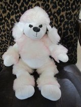 Build a Bear French Poodle White and Pink Stuffed Animal Toy in Houston, Texas