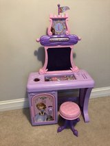 Sofia the first desk, chalkboard and locker in Chicago, Illinois