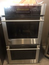 GE monogram stainless steel double oven in Cleveland, Texas