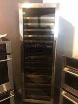 Stainless wine cooler in Kingwood, Texas