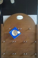 Mini Hummel collective plate and wooden holder in Ramstein, Germany
