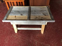 Small Farmhouse Solid Wood Coffee Table (hidden Drawer) in Fort Polk, Louisiana