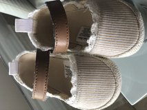 Size 3-6 months baby girl shoes in Pasadena, Texas