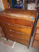 Wooden Four Drawer Chest In Fort Riley, Kansas