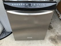 Frigidaire stainless dishwasher in Spring, Texas
