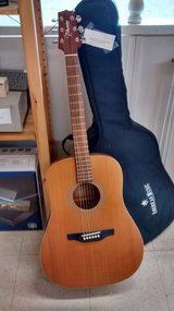 Takamine Acoustic Guitar with case in Lockport, Illinois