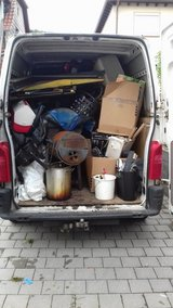 TRASH & JUNK REMOVAL/PCS/PICK UP & DELIVERY/LOCAL MOVING/ YARD -015237605502 Free Estimate in Ramstein, Germany