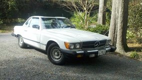 1982 380SL Mercedes Hardtop and Convertible Roadster in Beaufort, South Carolina