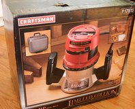 Craftsman 1.5HP Router (New) in Lockport, Illinois