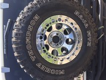 5 Jeep rims and Tires in Fort Polk, Louisiana