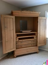 White Pine Amoire/Entertainment Center in Brookfield, Wisconsin