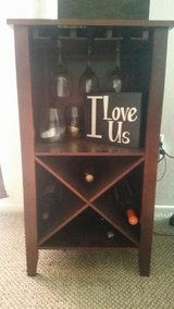 Wine rack in Camp Pendleton, California