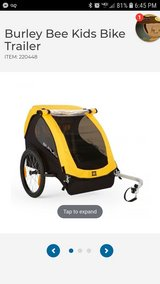 Burley Bee kids bike trailer 2 seater in Fort Drum, New York