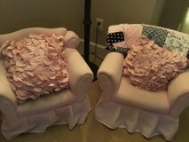 Set of 2 Pink Arm Chairs for Toddlers in Fairfield, California