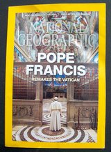 POPE FRANCIS National Geographic Magazine, August 2015 in Alamogordo, New Mexico