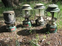 coleman lanterns and heater in Ruidoso, New Mexico