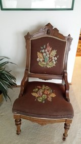 Cameo Backed antique chair in Fort Lewis, Washington
