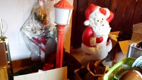 Vintage blow mold Santa and Candle in Fort Lewis, Washington