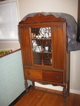 1922 China Cabinet and Buffett in Clarksville, Tennessee