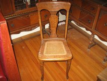 1920s oak side chair in Fort Campbell, Kentucky