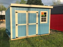 Premier 8x12 Cottage Shed in Leesville, Louisiana