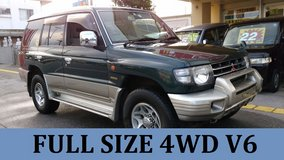 1997 MITSUBISHI PAJERO FULL SIZE 4WD V6 **TRAILER HITCH!!** WITH NEW JCI AND 1 YR WARRANTY!! in Okinawa, Japan