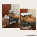 Timberland Leather Boots in Okinawa, Japan