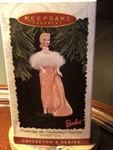 Hallmark keepsake ornament and chanted evening Barbie doll in Fort Knox, Kentucky