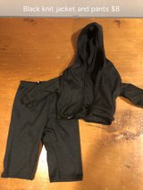 "18"" Doll clothes black jogging outfit in Joliet, Illinois"