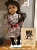 "18"" American Girl Samantha Doll with stand in Westmont, Illinois"