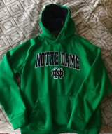 Men's medium Notre Dame hoodie in Lockport, Illinois