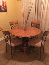 table and four chairs, small Recliner, washer and dryer, small futon couch in Leesville, Louisiana