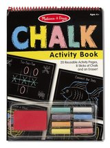 Melissa & Doug Chalk/Tape Activity Book bundle in Warner Robins, Georgia