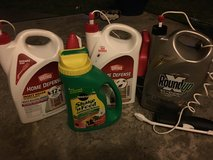 Insect killer sprays & Miracle grow in Okinawa, Japan
