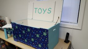 Toy Box and Time Out Stool in Fort Campbell, Kentucky