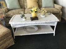 Wicker look Coffee table in Chicago, Illinois