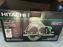 New in Box Hitachi 7 1/4 circular saw with carbide blade in Beaufort, South Carolina