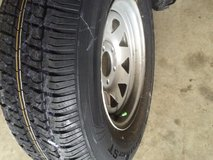 Rv trailer tire in rim in Fort Leonard Wood, Missouri