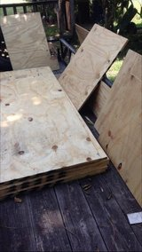 6 Sheets of NEW 4 X 8 Ft. 3/4 Inch Plywood Plus Lots of Extras- SOLD!! in Fort Polk, Louisiana