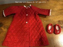 "Red Nightgown and Slippers fit 18"" doll in Joliet, Illinois"