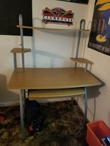 Desk w/ 2 shelves - great condition in Fort Campbell, Kentucky