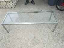 Glasstop table in Fort Campbell, Kentucky