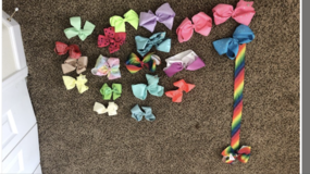 jojo bows and regular bows plus hanger in Colorado Springs, Colorado