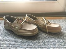 Never worn!  Girls Shoes - Sperry Bluefish Loafers - Sz 13.5 in Naperville, Illinois