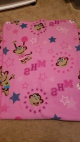 Pink Monkey Throw Blanket in Fort Campbell, Kentucky