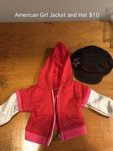 American Girl Jacket and Hat in Aurora, Illinois
